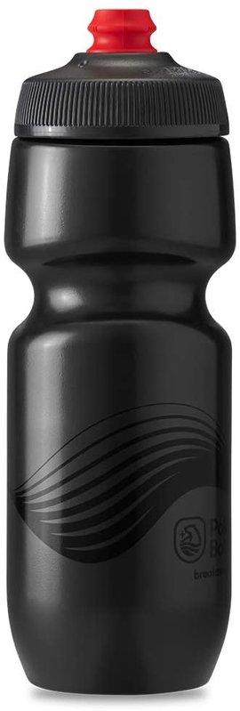 Polar Bottle Polar, Breakaway 20oz, Water Bottle, 591ml / 20oz, Charcoal/Black
