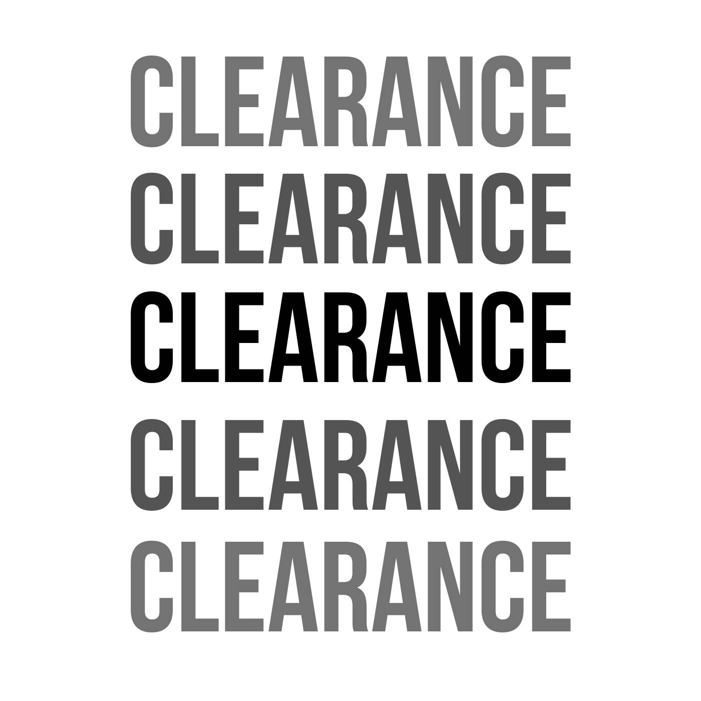 CLEARANCE   Up to 70 % Off