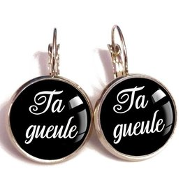Ta Gueule Earrings