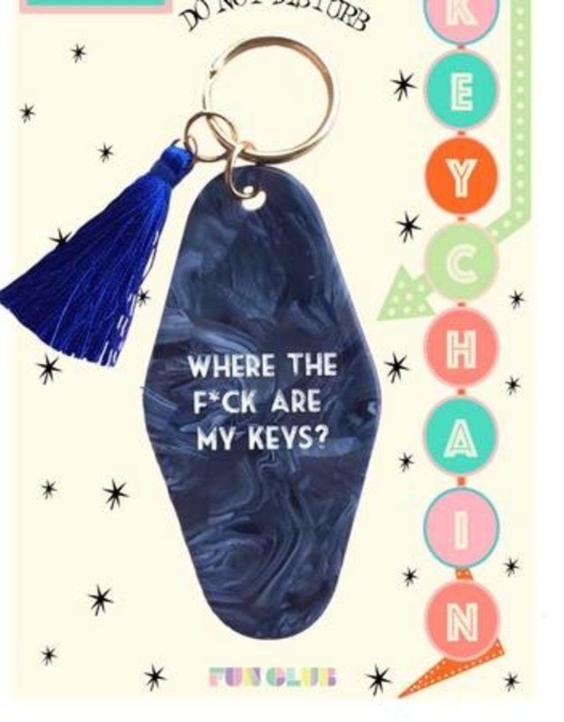 Where the Fuck are my Keys