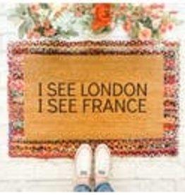 LONDON FRANCE DOORMAT