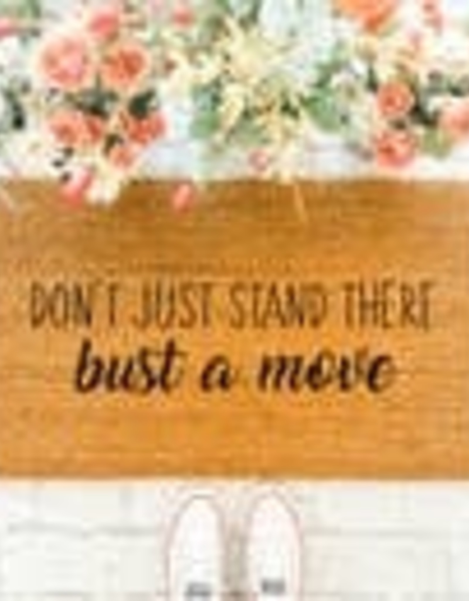 BUST A MOVE DOORMAT