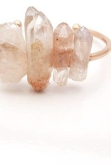Rose Gold Quartz Bracelet