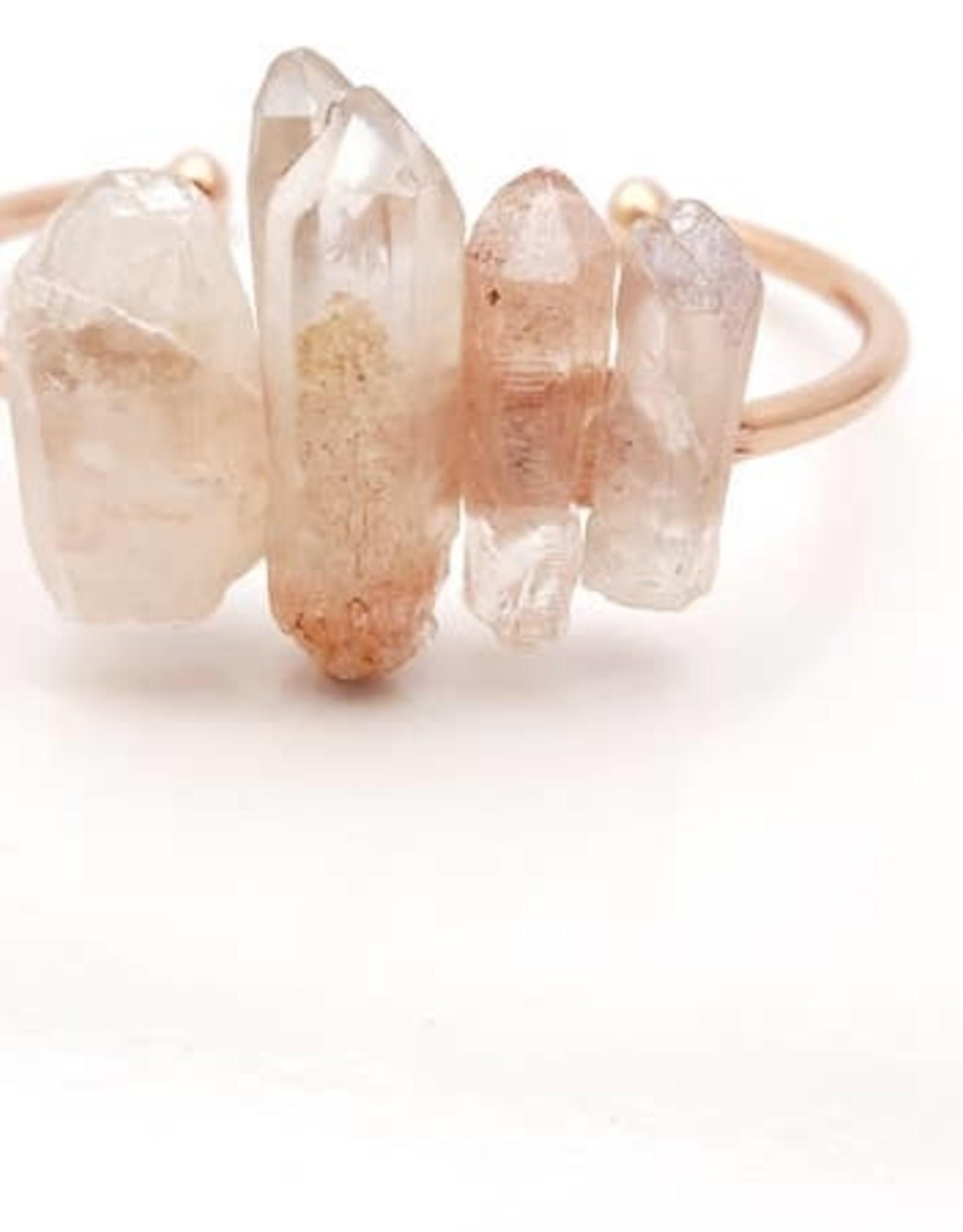 Rose Gold Quartz Bracelet
