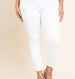 RENEE HIGH WAIST SIDE PINTUCK