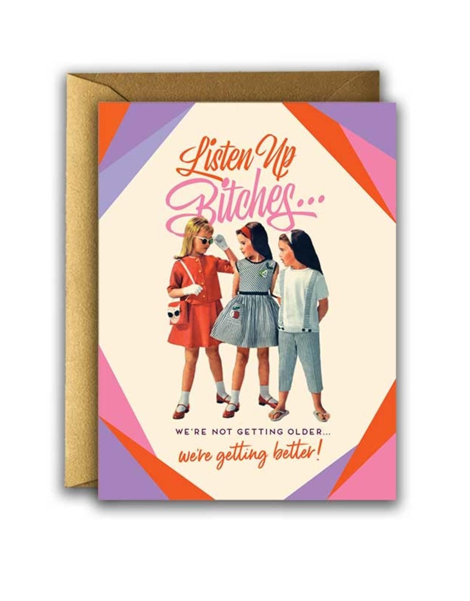 LISTEN UP CARD