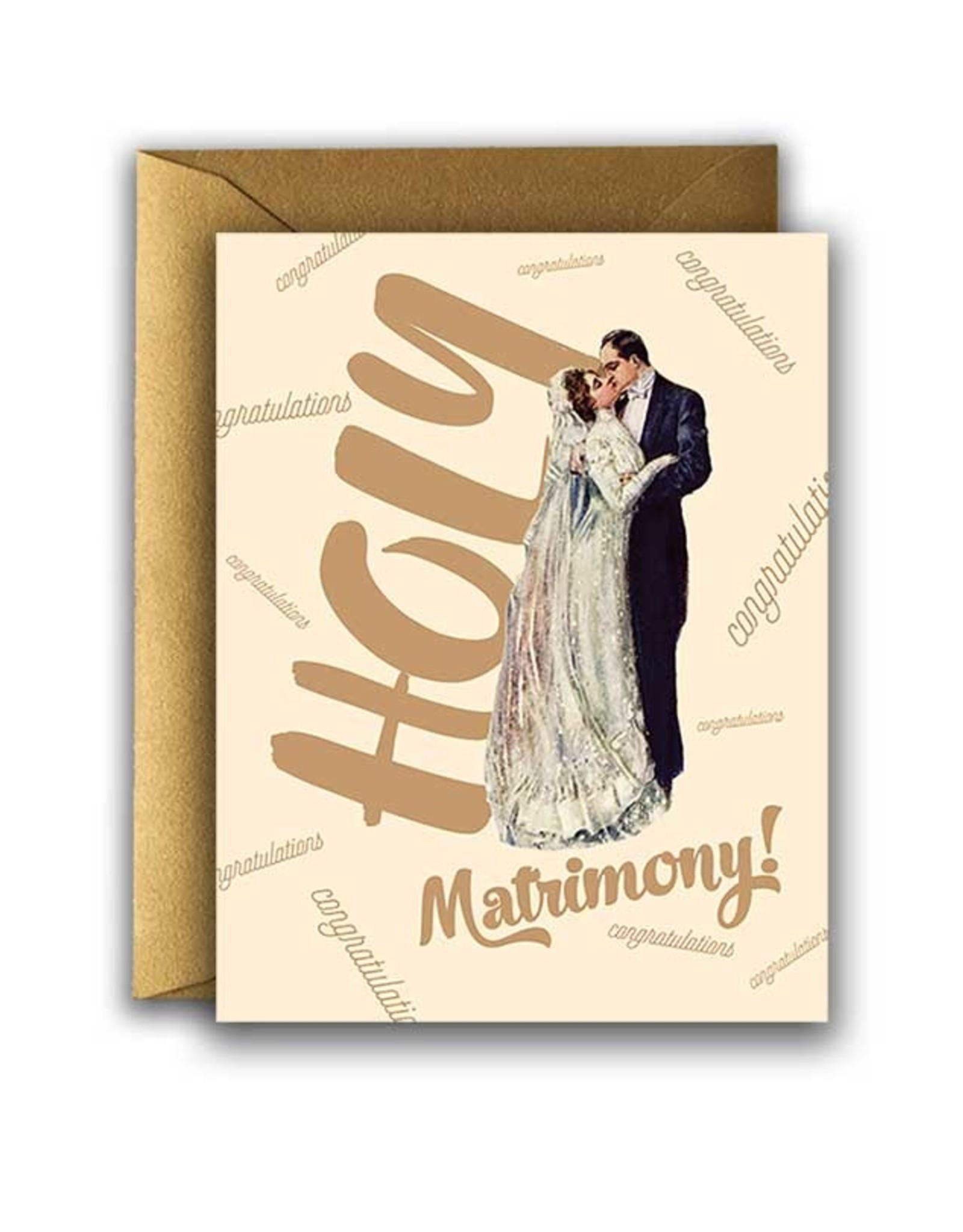 WEDDING HOLY MATRIMONY CARD
