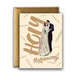 WEDDING HOLY MATRIMONY CARD