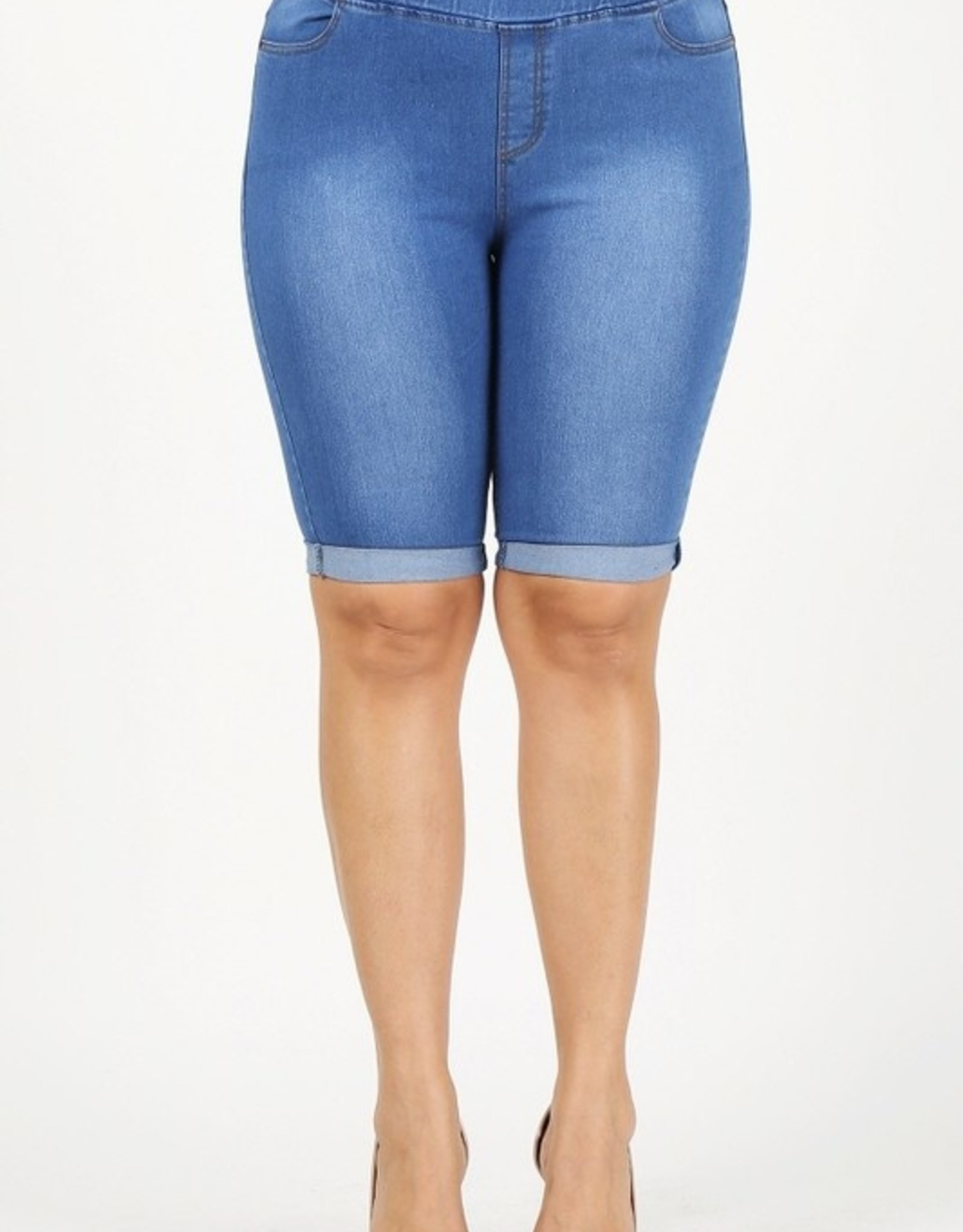 Bye Felicia Denim Shorts