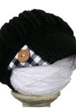 PLAID SPIRIT GIRLS BUFFALO CHECK REVERSIBLE BRIM HAT