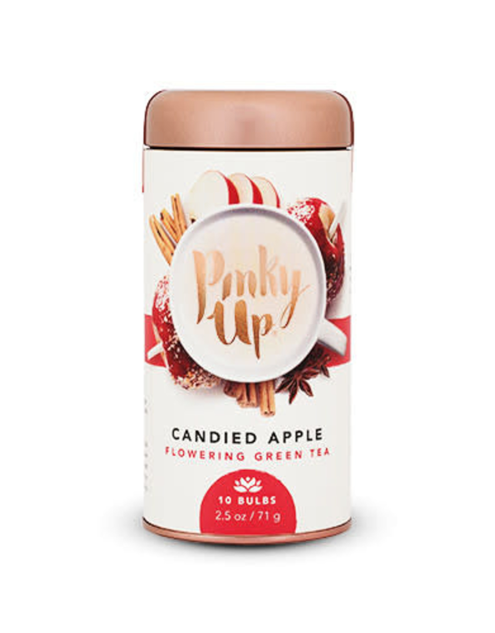 PINKY UP CANDIED APPLE FLOWERING TEA