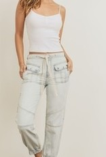 Kendall and Kylie KENDALL AND KYLIE CARGO JOGGER