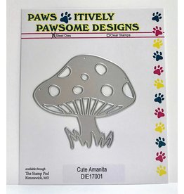 Paws-Itively Pawsome Designs Cute Amanita - Die
