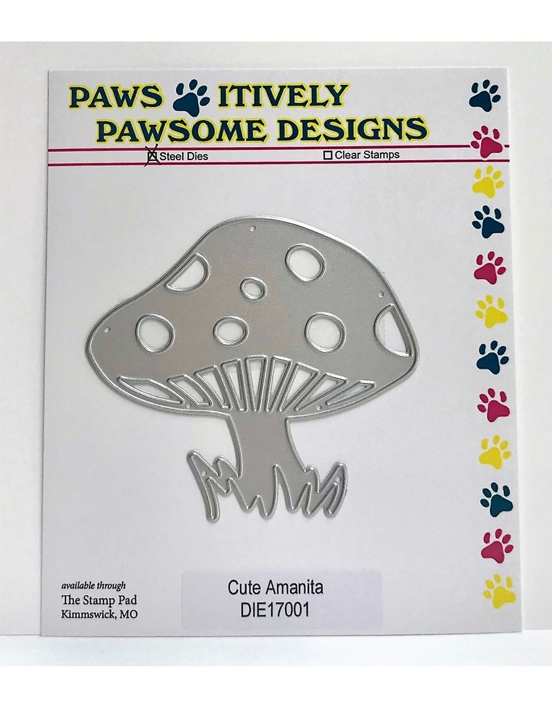 Paws-Itively Pawsome Designs Cute Amanita