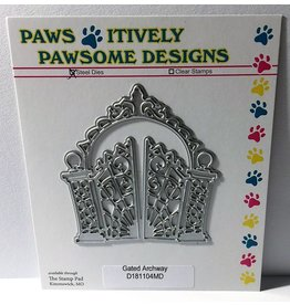 Paws-Itively Pawsome Designs Gated Archway