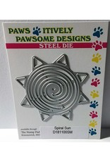 Paws-Itively Pawsome Designs Spiral Sun - Die