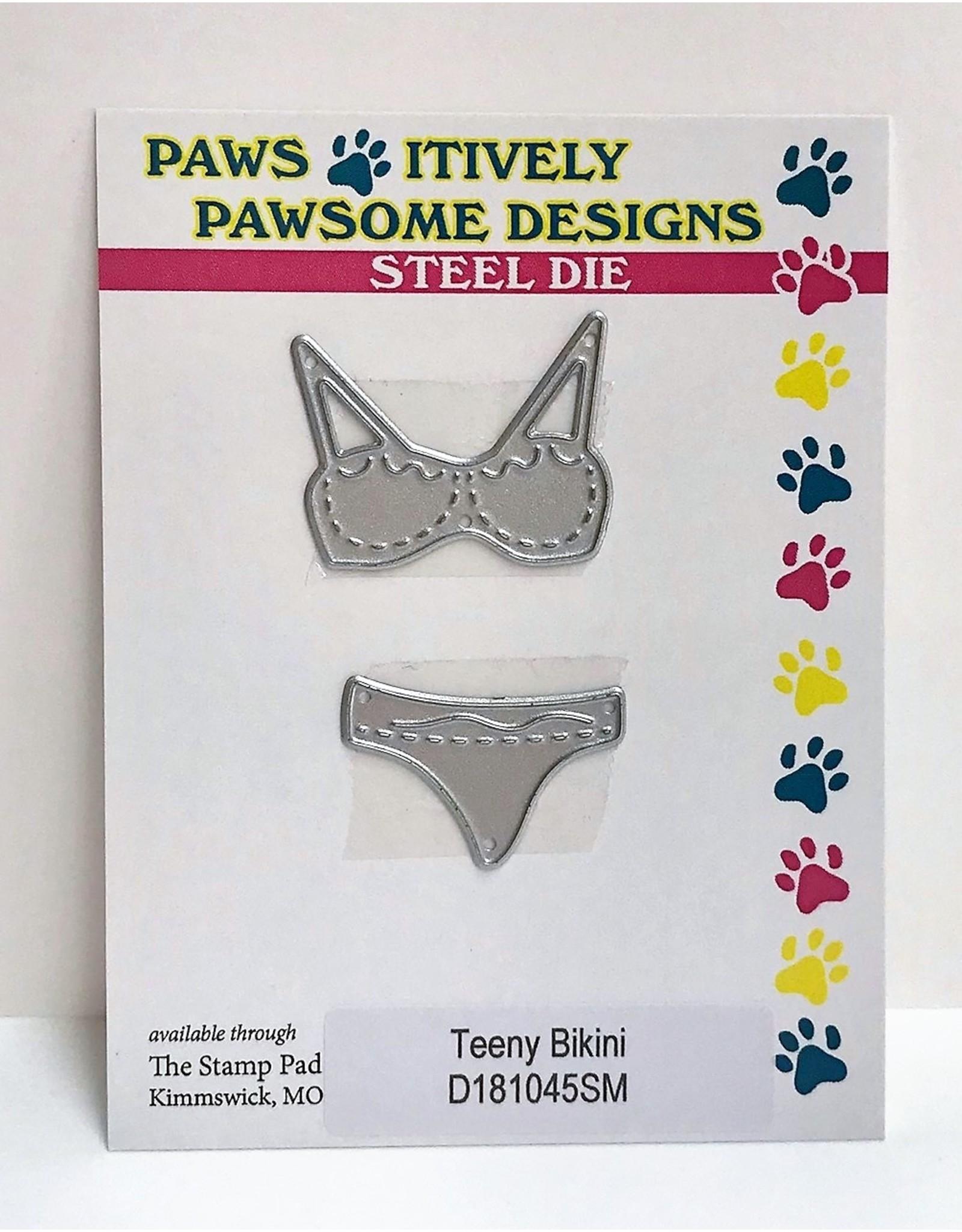 Paws-Itively Pawsome Designs Teeny Bikini - Die
