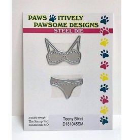 Paws-Itively Pawsome Designs Teeny Bikini