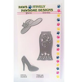 Paws-Itively Pawsome Designs Pretty Lady - Die