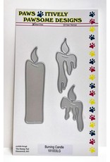 Paws-Itively Pawsome Designs Burning Candle
