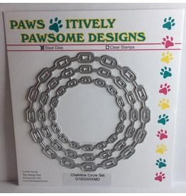 Paws-Itively Pawsome Designs Chainlink  Circle Set