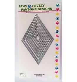 Paws-Itively Pawsome Designs Stitched Diamond Set - Die