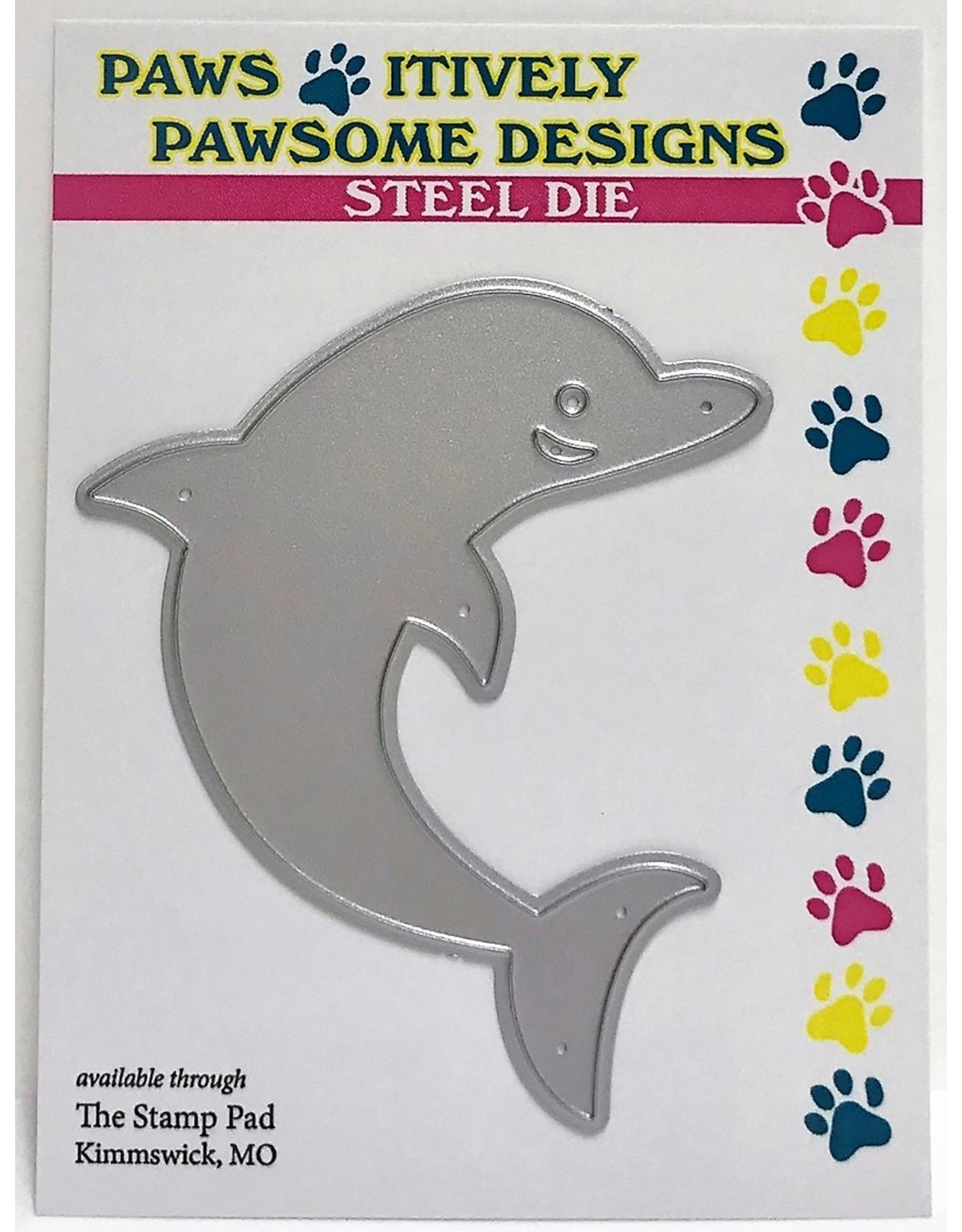 Paws-Itively Pawsome Designs Daphne D. Olphin - Die