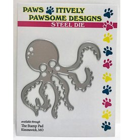 Paws-Itively Pawsome Designs Ollie Octo - Die
