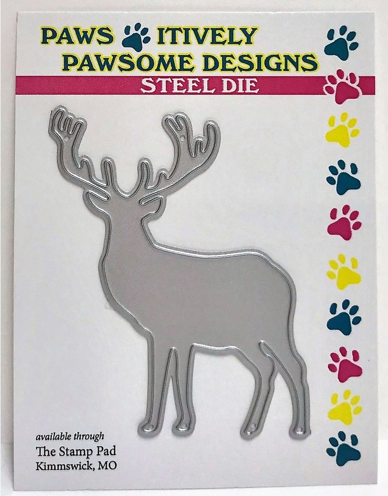 Paws-Itively Pawsome Designs 11 Point Buck
