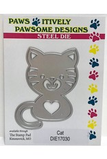 Paws-Itively Pawsome Designs Bentley (Cat) - Die