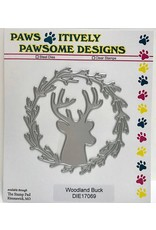 Paws-Itively Pawsome Designs Woodland Buck - Die
