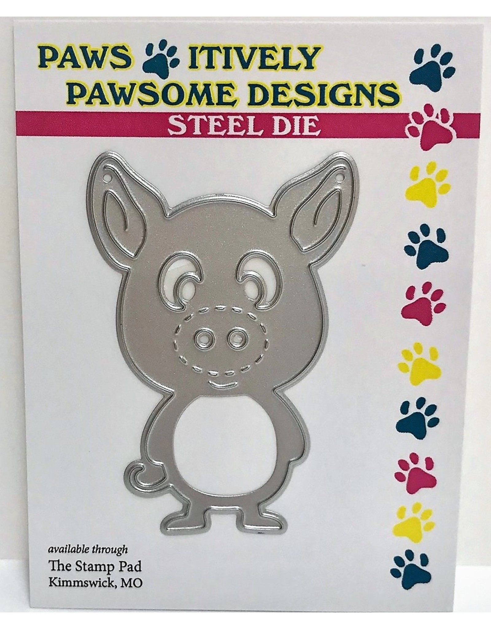 Paws-Itively Pawsome Designs Paulie P. Iglet - Die