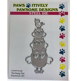 Paws-Itively Pawsome Designs Owl Stack