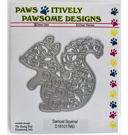 Paws-Itively Pawsome Designs Samuel Squirrel - Die