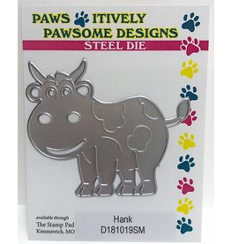 Paws-Itively Pawsome Designs Hank (Cow) - Die
