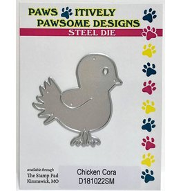 Paws-Itively Pawsome Designs Chicken Cora - Die