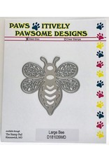 Paws-Itively Pawsome Designs Large Bee - Die