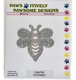 Paws-Itively Pawsome Designs Large Bee