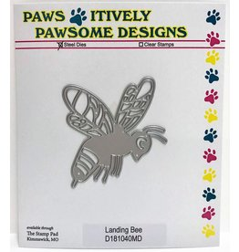 Paws-Itively Pawsome Designs Landing Bee - Die