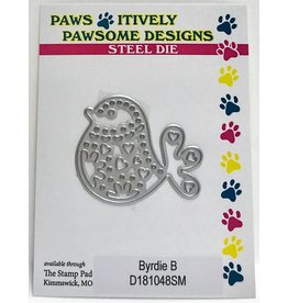 Paws-Itively Pawsome Designs Byrdie B - Die