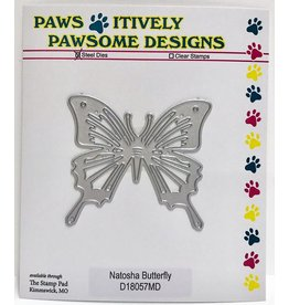 Paws-Itively Pawsome Designs Natosha Butterfly - Die