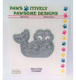 Paws-Itively Pawsome Designs Willa-Jo Whale