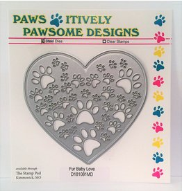 Paws-Itively Pawsome Designs Furbaby Love - Die