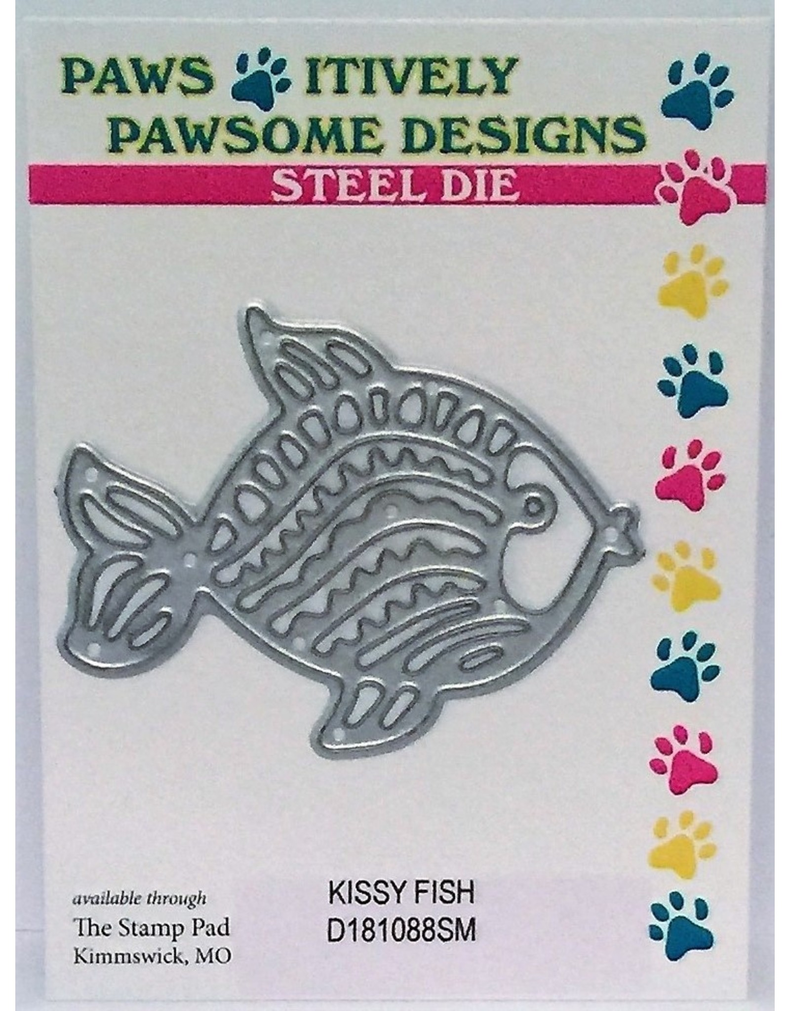 Paws-Itively Pawsome Designs Kissy Fish - Die