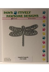 Paws-Itively Pawsome Designs Delightful Dragonfly - Die
