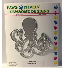 Paws-Itively Pawsome Designs Owen Octo - Die