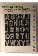 Paws-Itively Pawsome Designs Perfect Alphabet - Die
