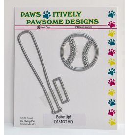 Paws-Itively Pawsome Designs Batter Up! - Die