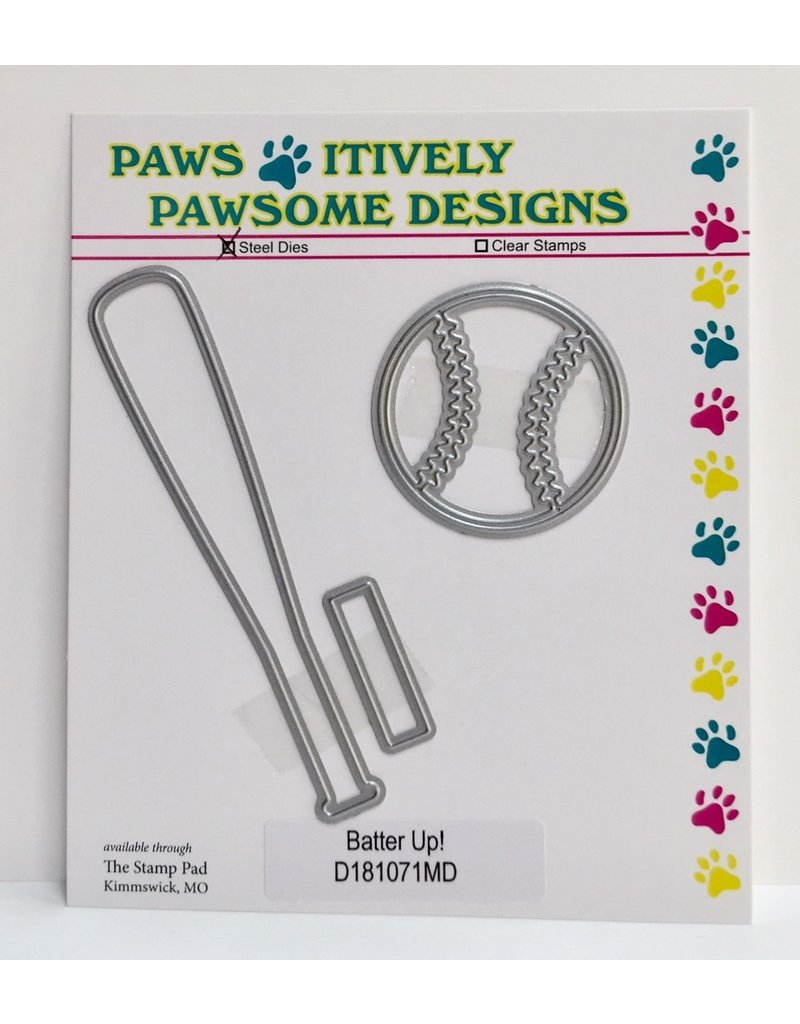 Paws-Itively Pawsome Designs Batter Up!