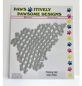 Paws-Itively Pawsome Designs Fishing Net - Die